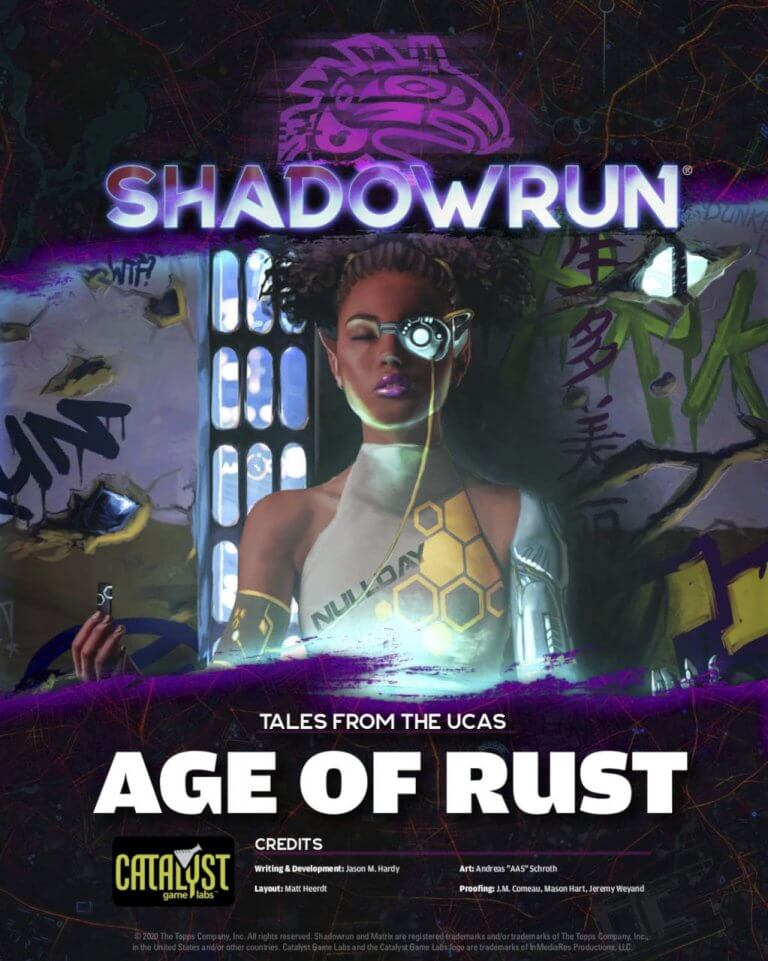 Shadowrun: Age of Rust cover